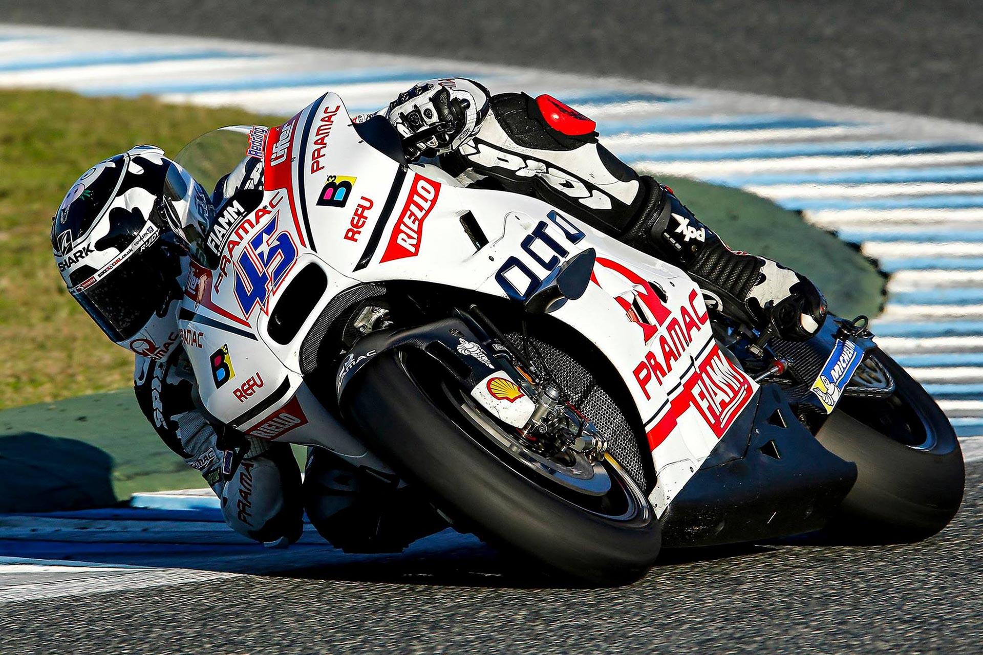 Scott Redding - Jerez MotoGP Test - November 2015