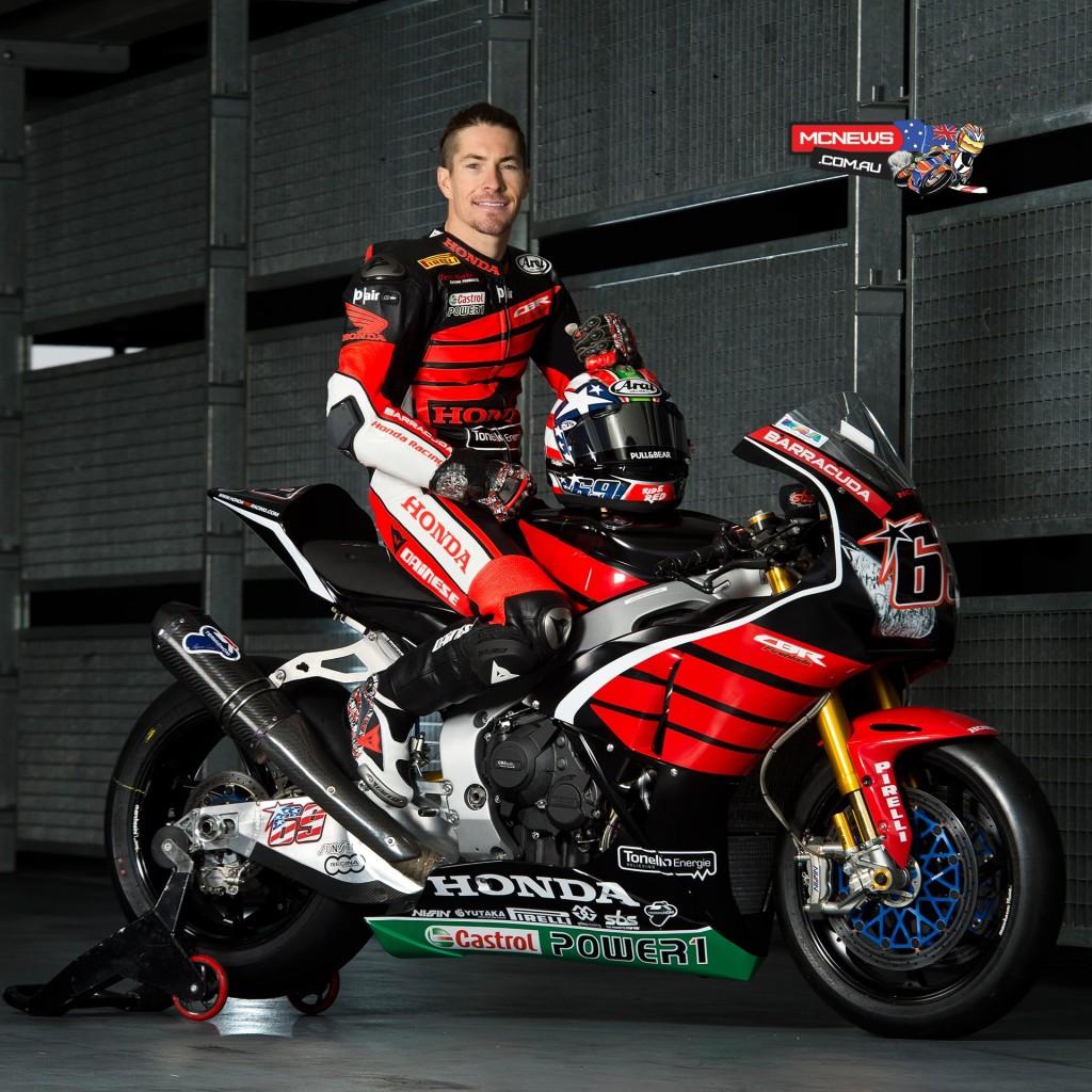 Nicky Hayden - Honda Fireblade SP