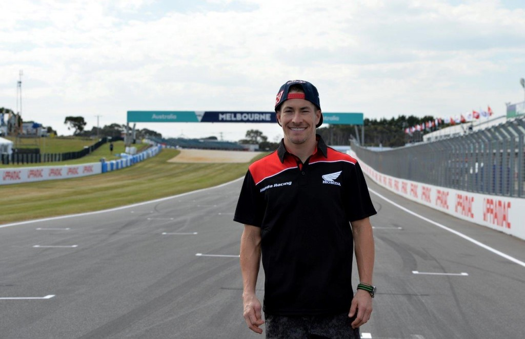 Nicky Hayden joins the Dutch-based Ten Kate Honda team in Spain to begin testing the CBR1000R SP he'll race in the 2016 FIM Motul Superbike World Championship