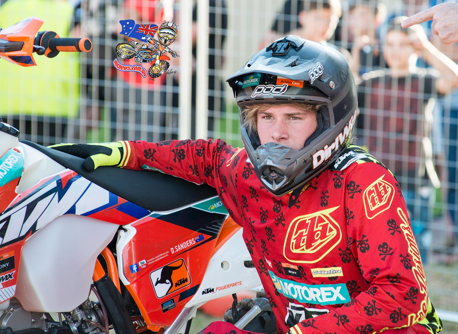 Perth International Enduro Cross 2015 - Daniel Sanders