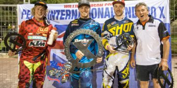 Kyle Redmond conquers Perth International Endurocross 2015 ahead of Daniel Sanders and Graham Jarvis