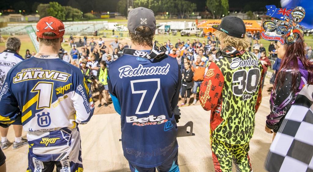 Kyle Redmond conquers Perth International Endurocross 2015 ahead of Daniel Sanders and Graham Jarvis