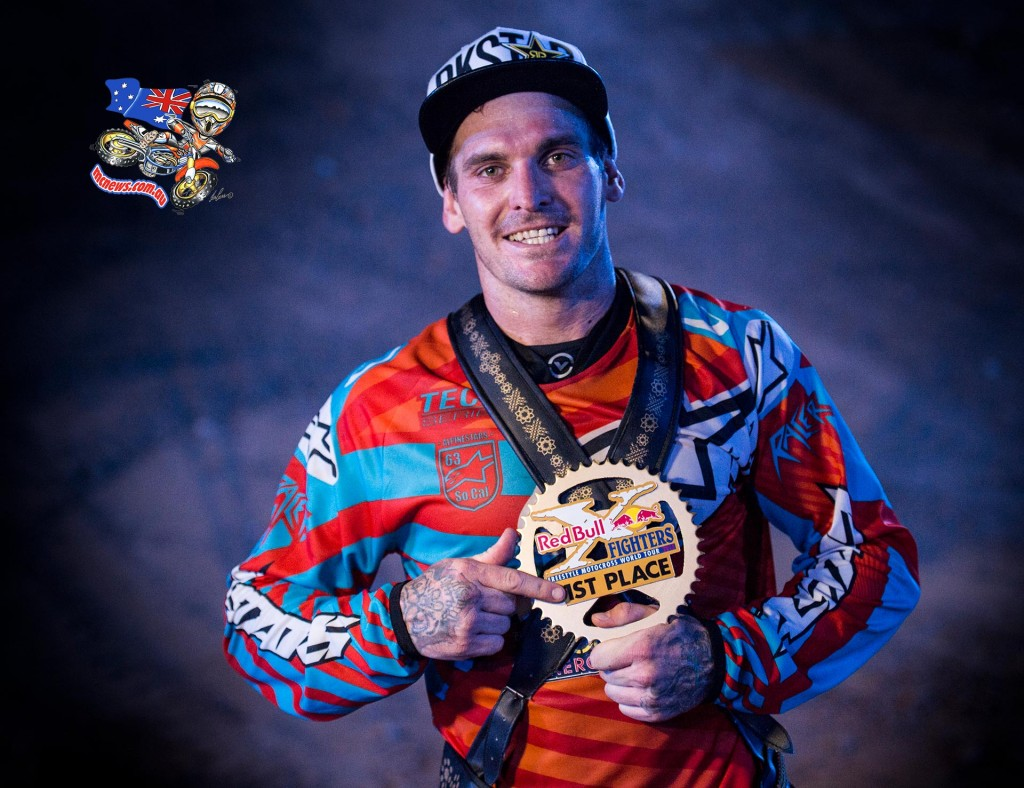 Australia's Clinton Moore was crowned the winner of the 2015 Red Bull X-Fighters World Tour in Abu Dhabi on Friday after winning the finale, capping a sensational season in the world's most prestigious Freestyle Motocross tour with three wins to finish just ahead of Thomas Pagès in its 15th season.