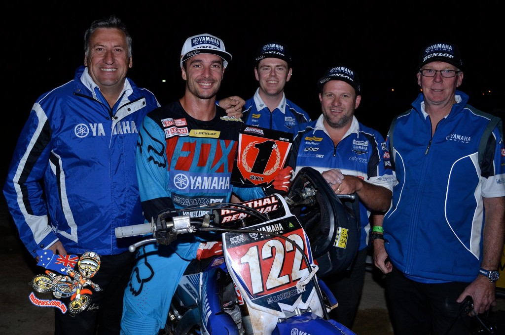 Dan Reardon wins Adelaide Supercross