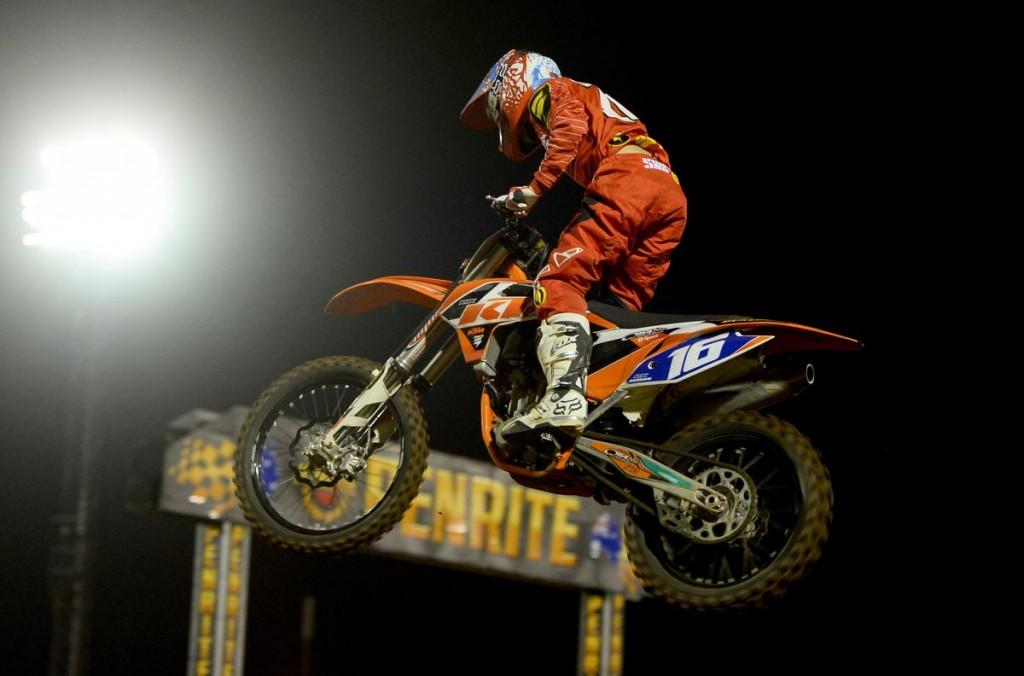 Adelaide Supercross - Kaleb Barham