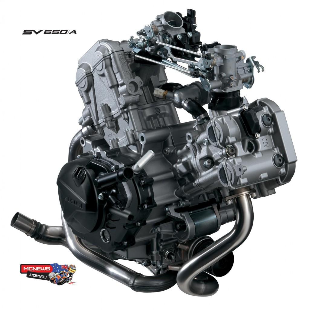 Suzuki SV650 Engine (2016)