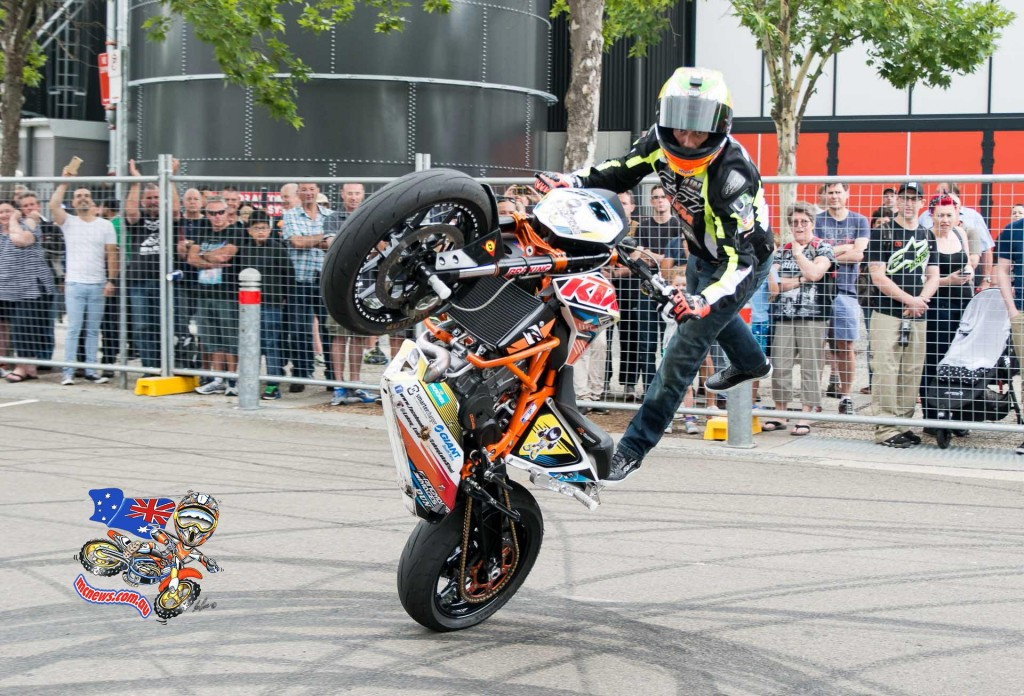 Lukey Luke - Sydney Motorcycle Show