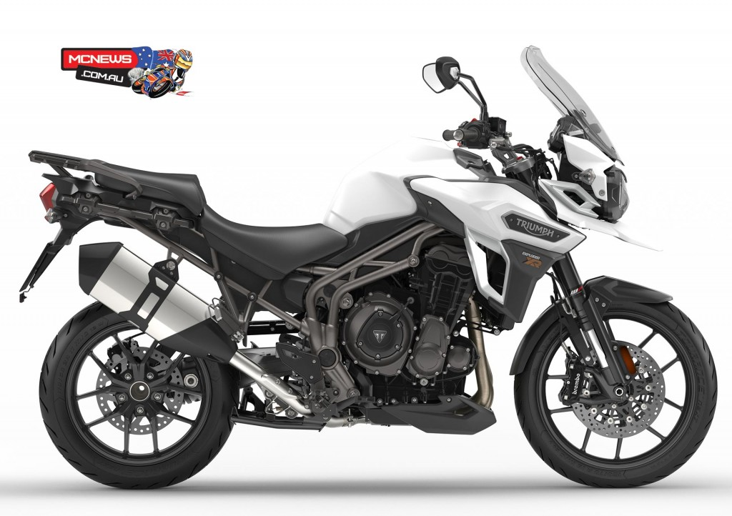 Triumph Explorer XR - Only the more up-spec XRx and XRt will be sold in Australia, not the base version pictured here