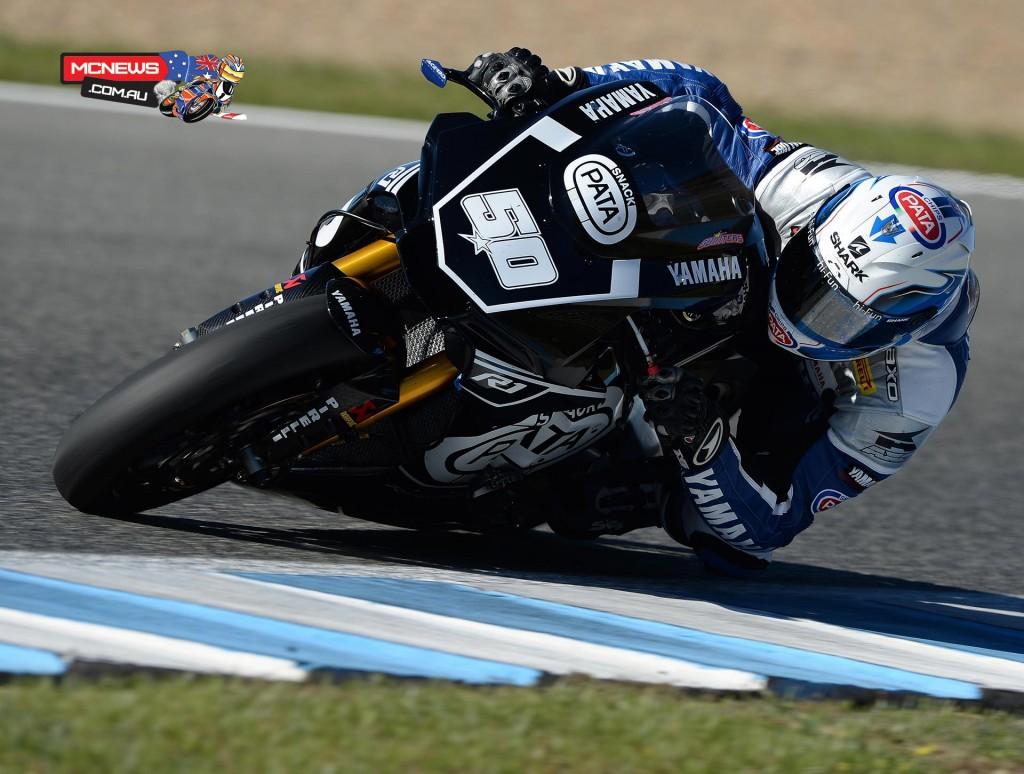 Sylvain Guintoli - WorldSBK Testing November 2015