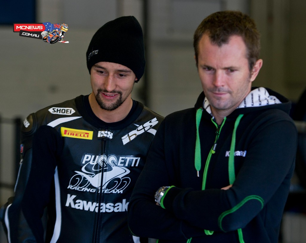 WorldSBK 2016 - Jerez Testing - November, 2015 - Randy Krummenacher