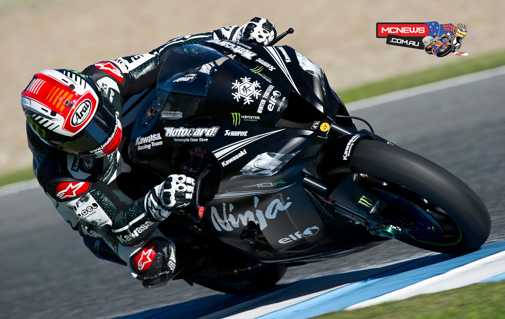 Jonathan Rea tops day one of Jerez WorldSBK Testing