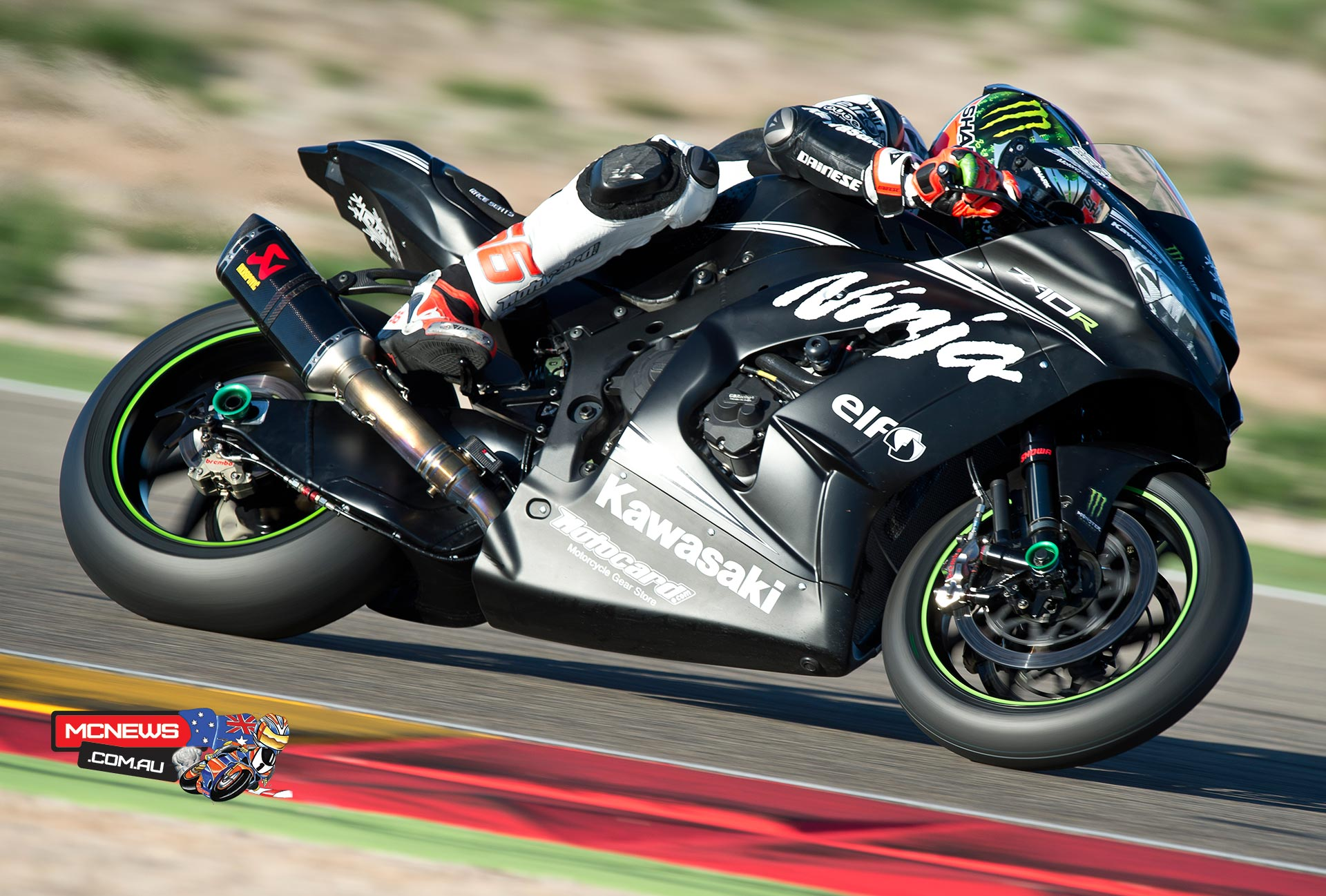 Tom Sykes - WorldSBK 2016 Testing - November, 2015 Aragon