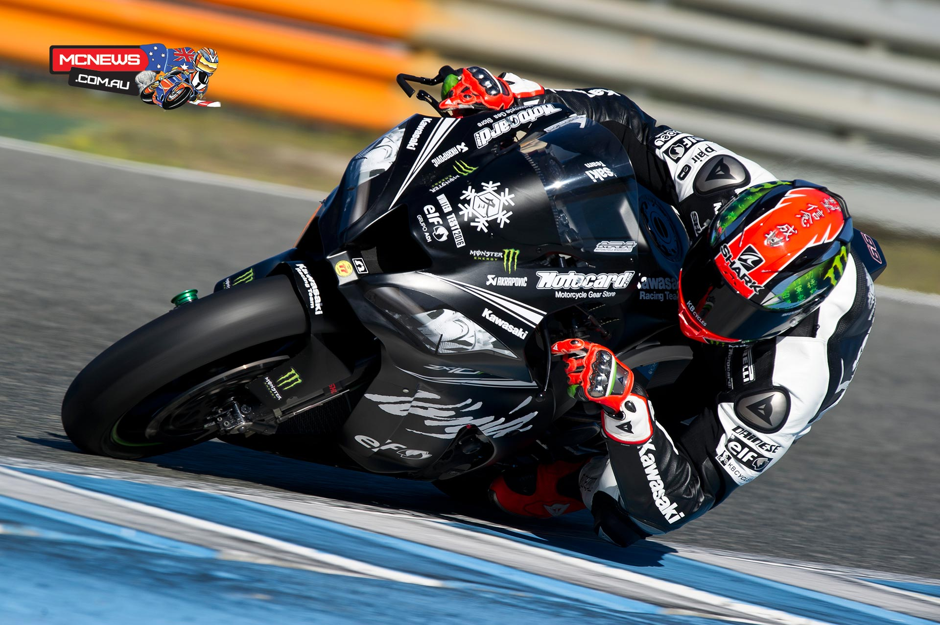 Tom Sykes - WorldSBK Testing November 2015
