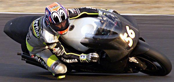 December 2000 - Yamaha Grand Prix Test - Shinya Nakano