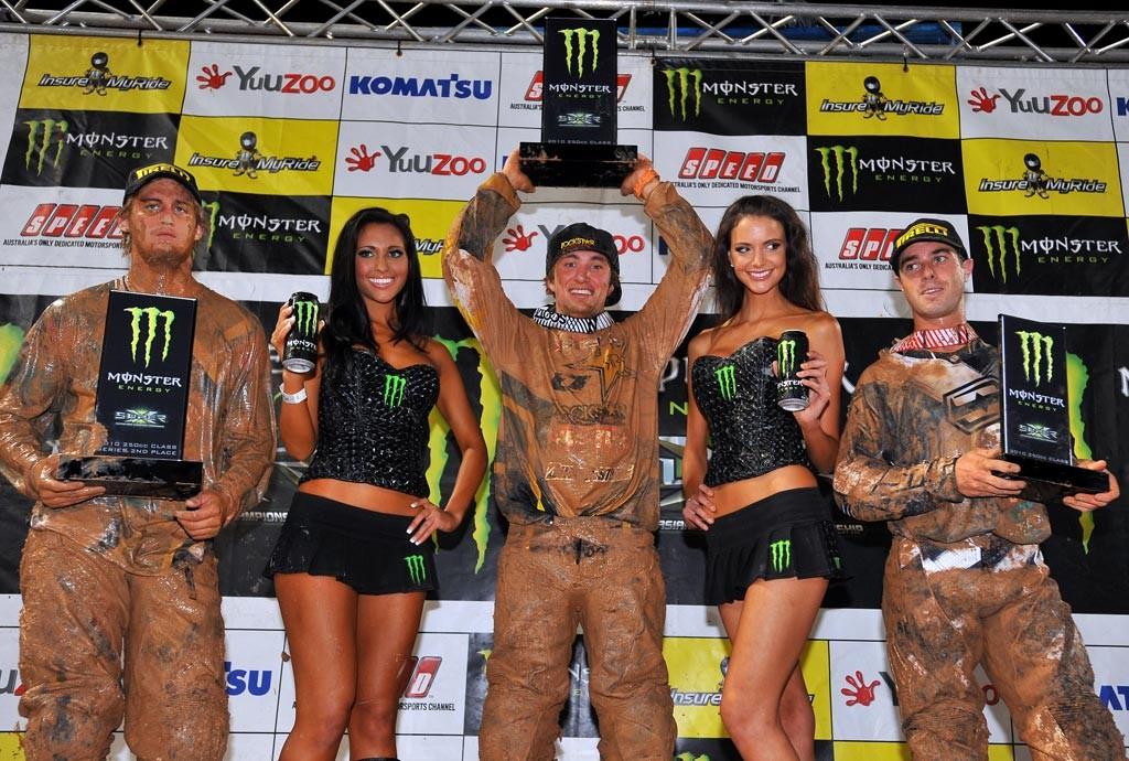 2010 Super-X Finale - Brisbane - Lites Overall Podium - Matt Moss Champion - Image by Jeff Crow