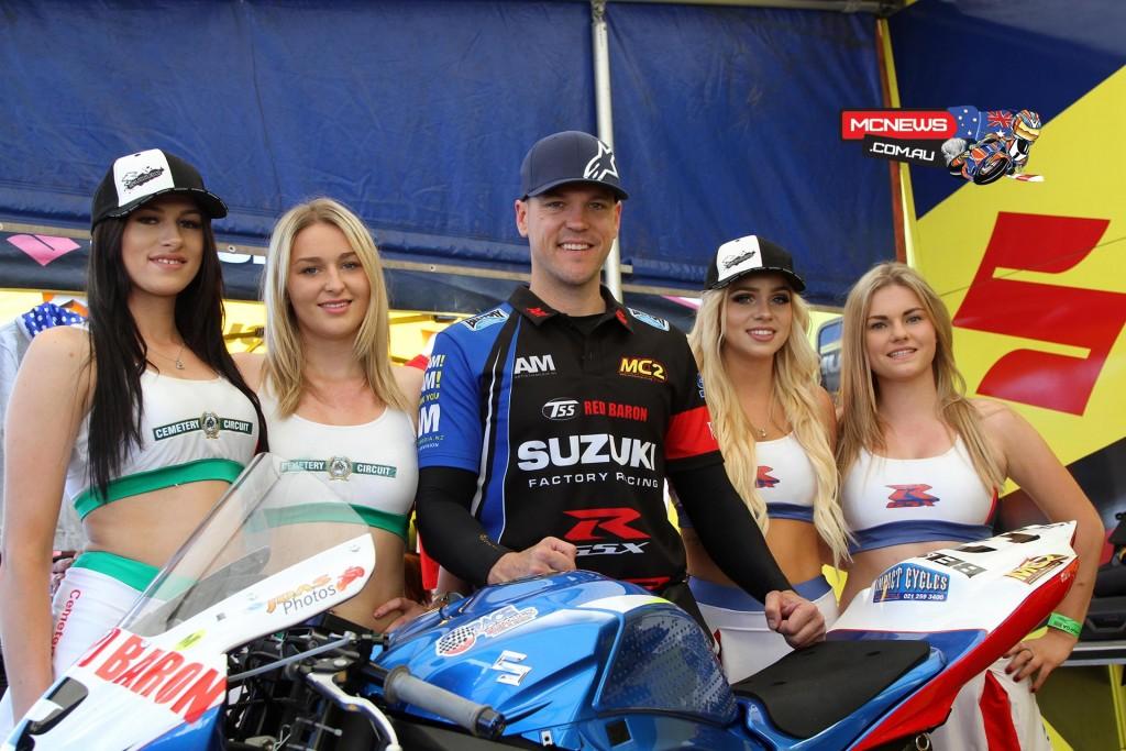 2015 Suzuki Series winner Sloan Frost