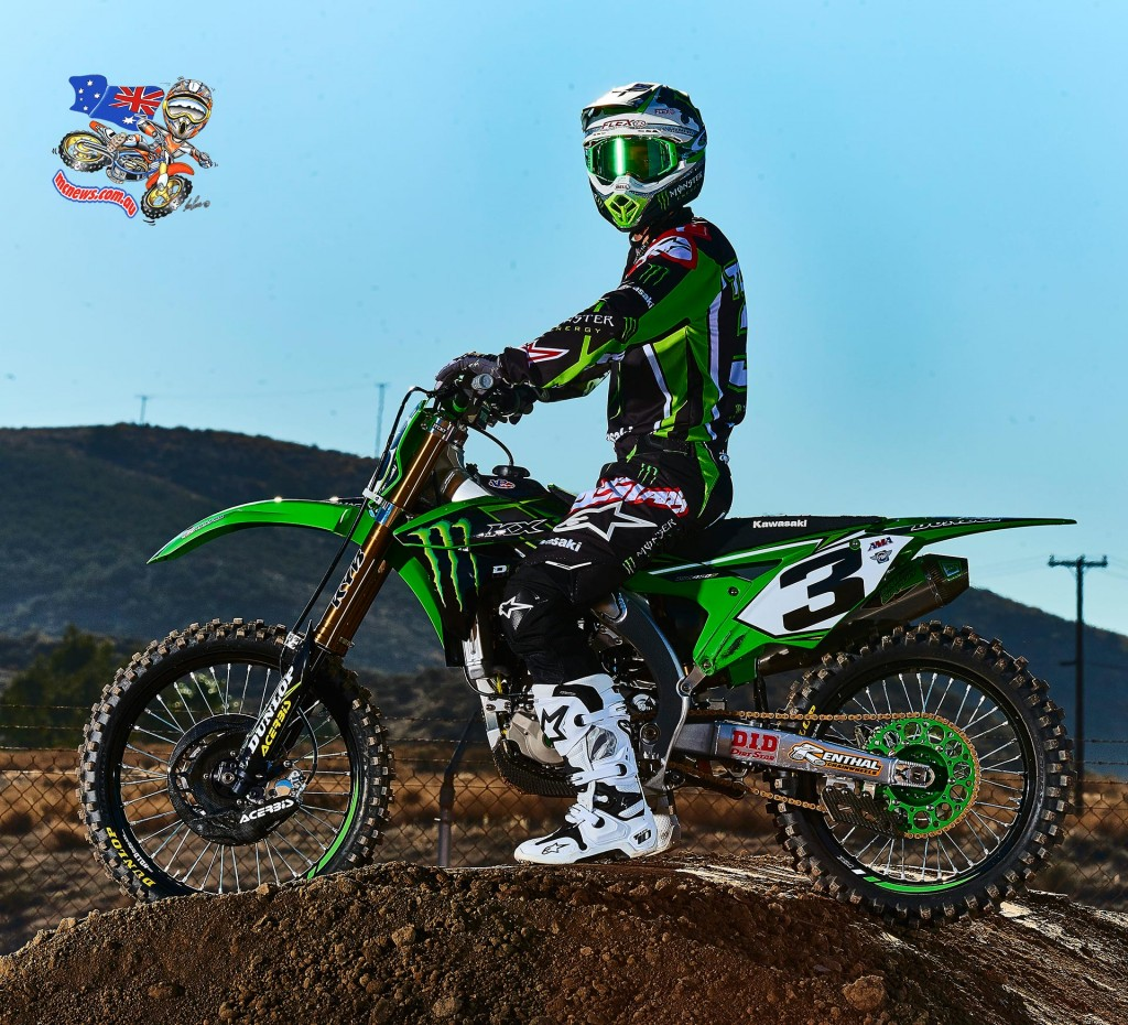 Eli Tomac is certainly loving his KX450F