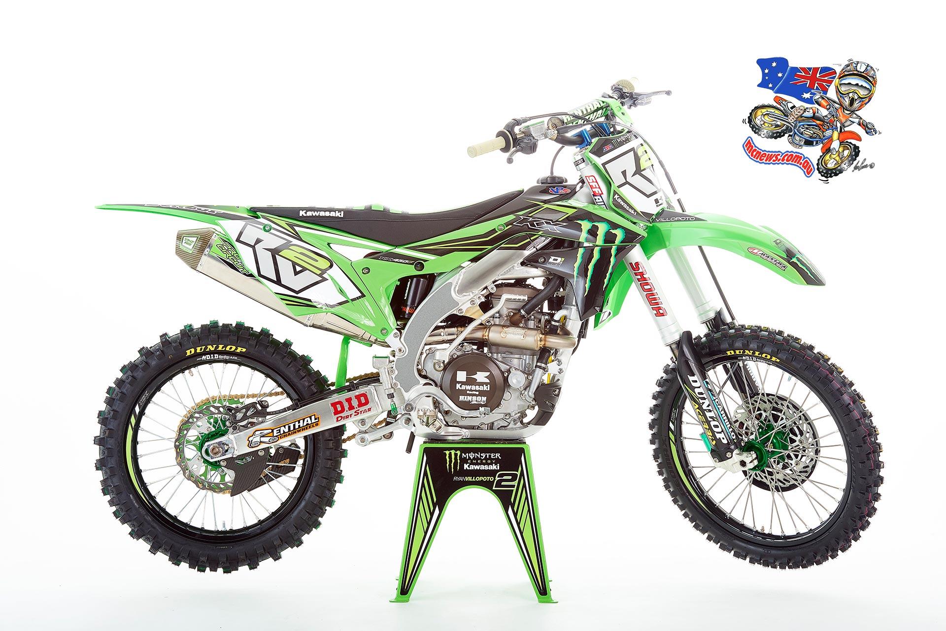 2016 Kawasaki KX450F - Ryan Villopoto