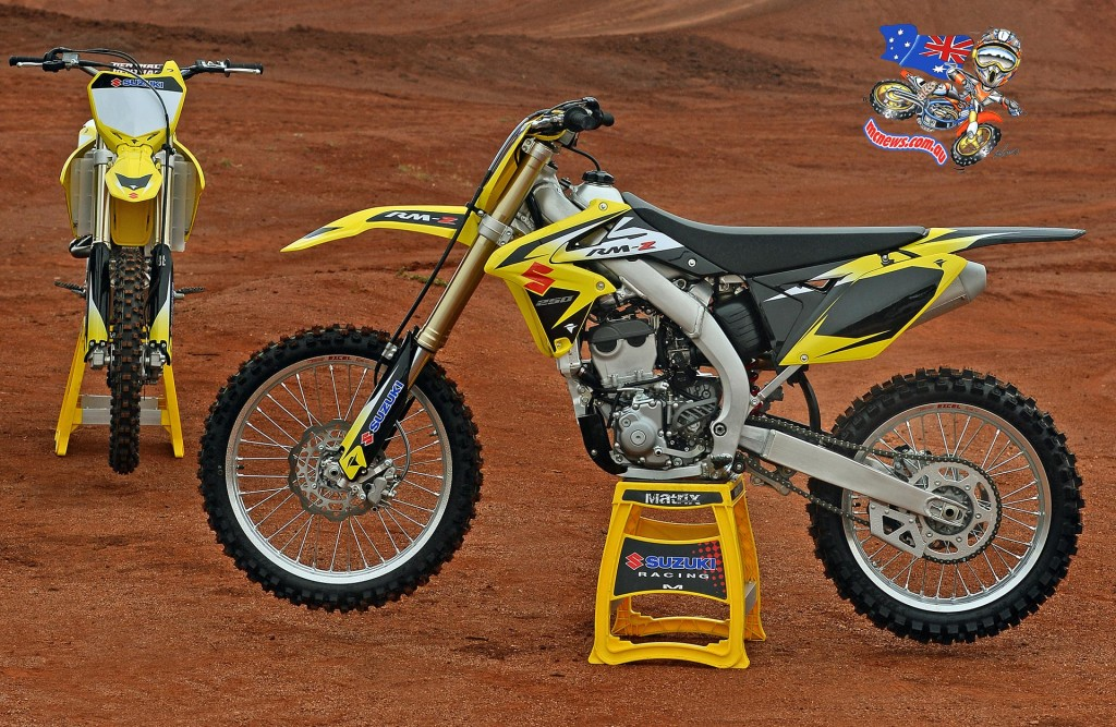 2016 Suzuki RM-Z250 with Factory RM-ZWS (Japan Works Special) inspired graphics kit