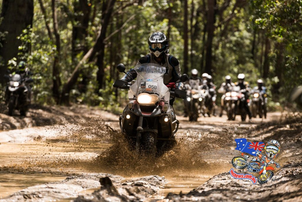 2015 BMW GS Safari also involved a bit of getting muddy