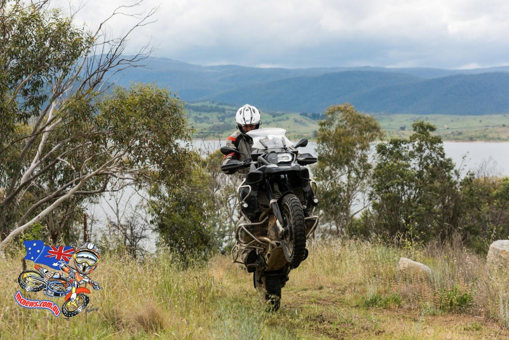 BMW R 1200 GS at play on 2015 BMW GS Safari