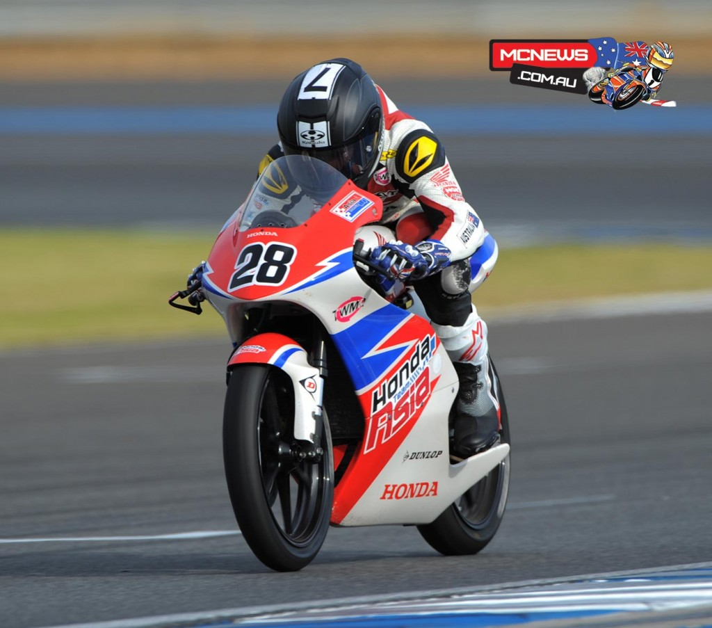 Broc Pearson - 2015 Moto3 Test - Chang International Circuit - Biriram, Thailand