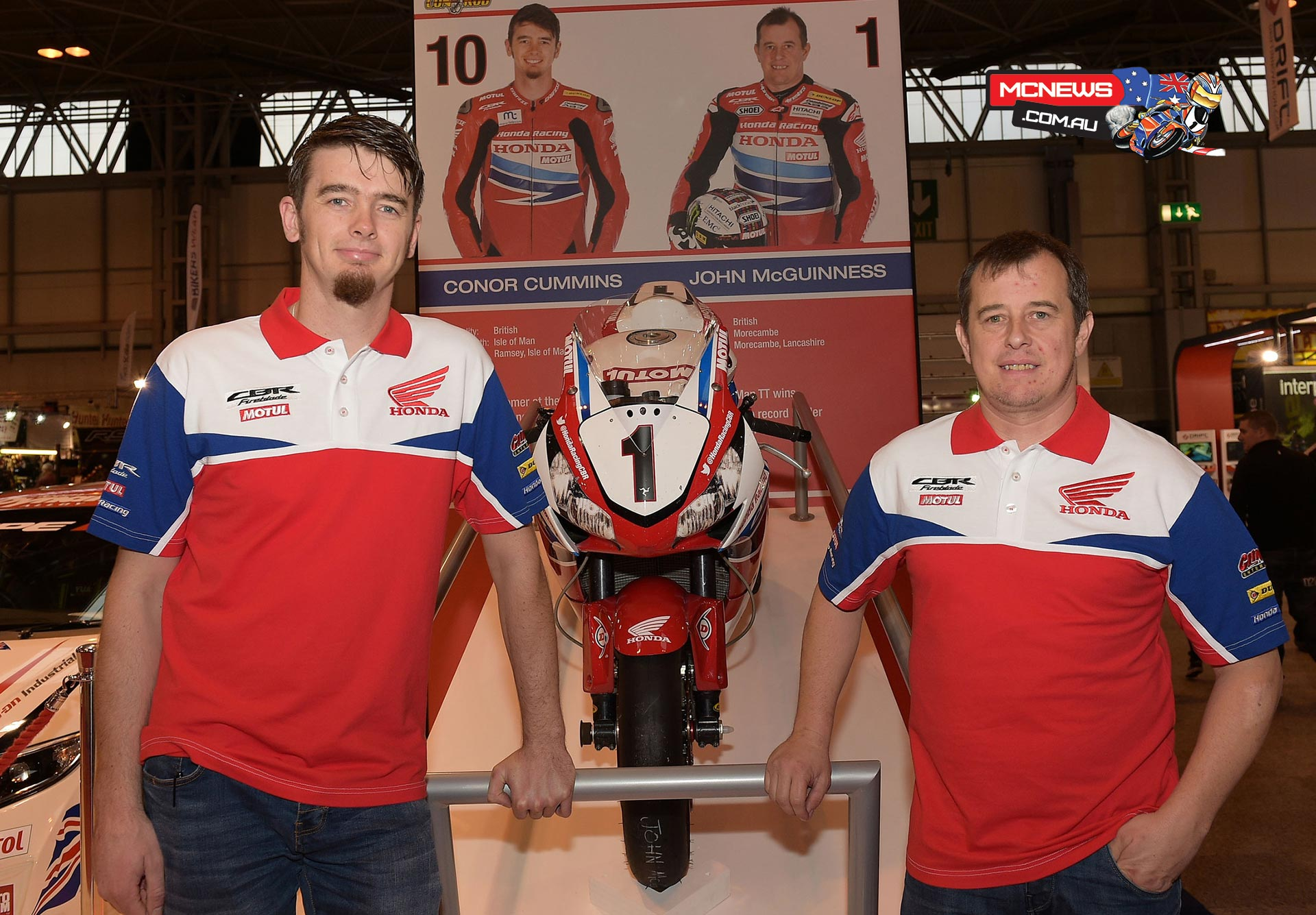 John McGuinness and Conor Cummins stick with Honda Racing for 2016