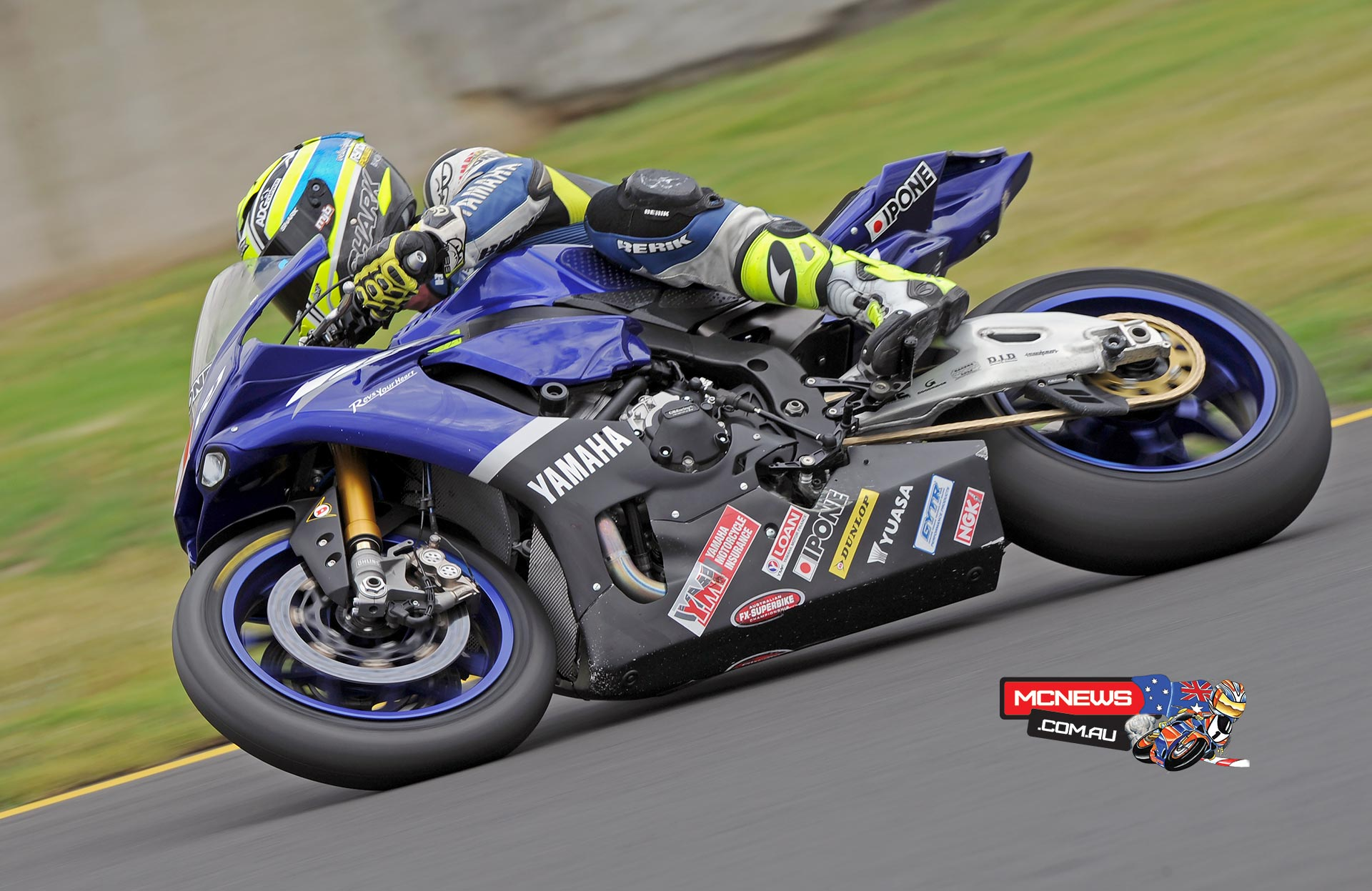 Cru Halliday in action at Sydney Motorsports Park this morning. Image by Keith Muir