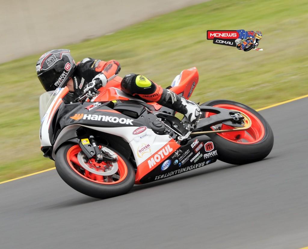 Swann Australasian Superbike Championship 2015 - Sydney Motorsports Park Final - Brayden Elliott - Supersport - GSX-R600