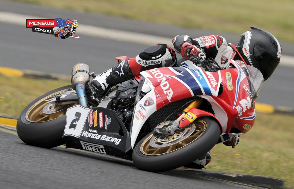 Swann Australasian Superbike Championship 2015 - Sydney Motorsports Park Final - Team Honda - CBR1000RR SP Fireblade - Jamie Stauffer