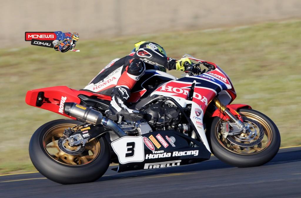 Swann Australasian Superbike Championship 2015 - Sydney Motorsports Park Final - Team Honda - CBR1000RR SP Fireblade - Troy Herfoss