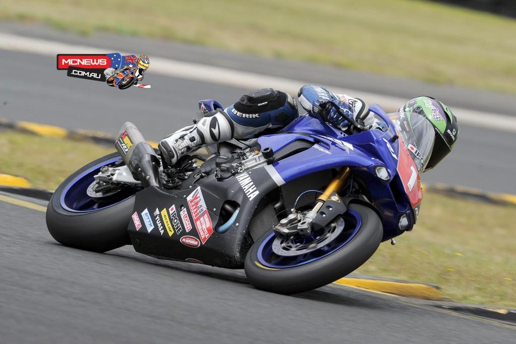 Swann Australasian Superbike Championship 2015 - Sydney Motorsports Park Final - Wayne Maxwell