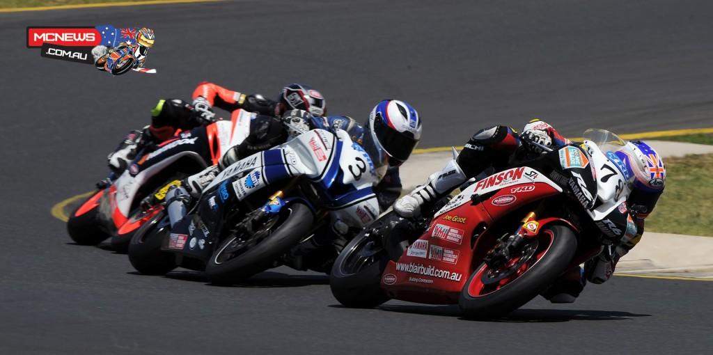Michael Blair, Callum Spriggs, Brayden Elliott - 2015 Swann Insurance Australasian Superbike Championship