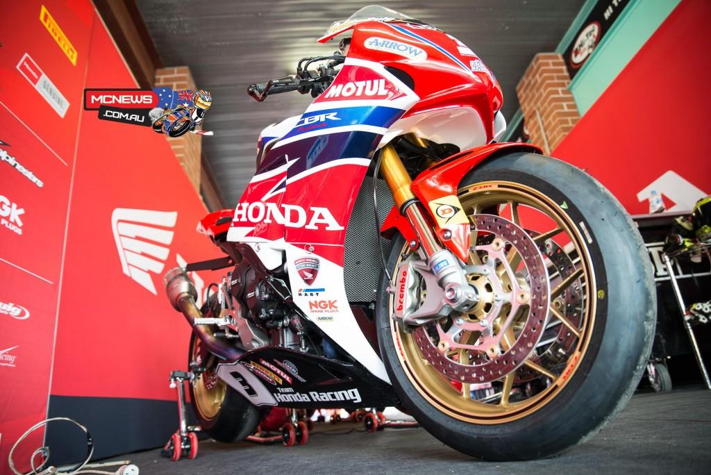 Swann Australasian Superbike Championship 2015 - Sydney Motorsports Park Final - Team Honda - CBR1000RR SP Fireblade