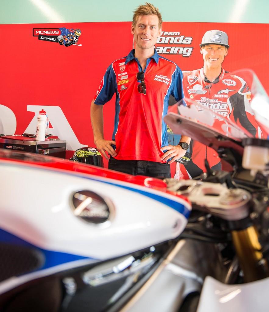 Swann Australasian Superbike Championship 2015 - Sydney Motorsports Park Final - Team Honda - Troy Herfoss