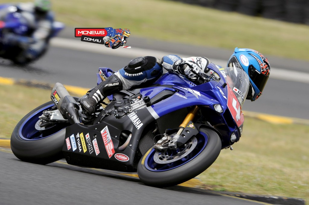 Glenn Allerton in action at Sydney Motorsports Park this morning. Image by Keith Muir
