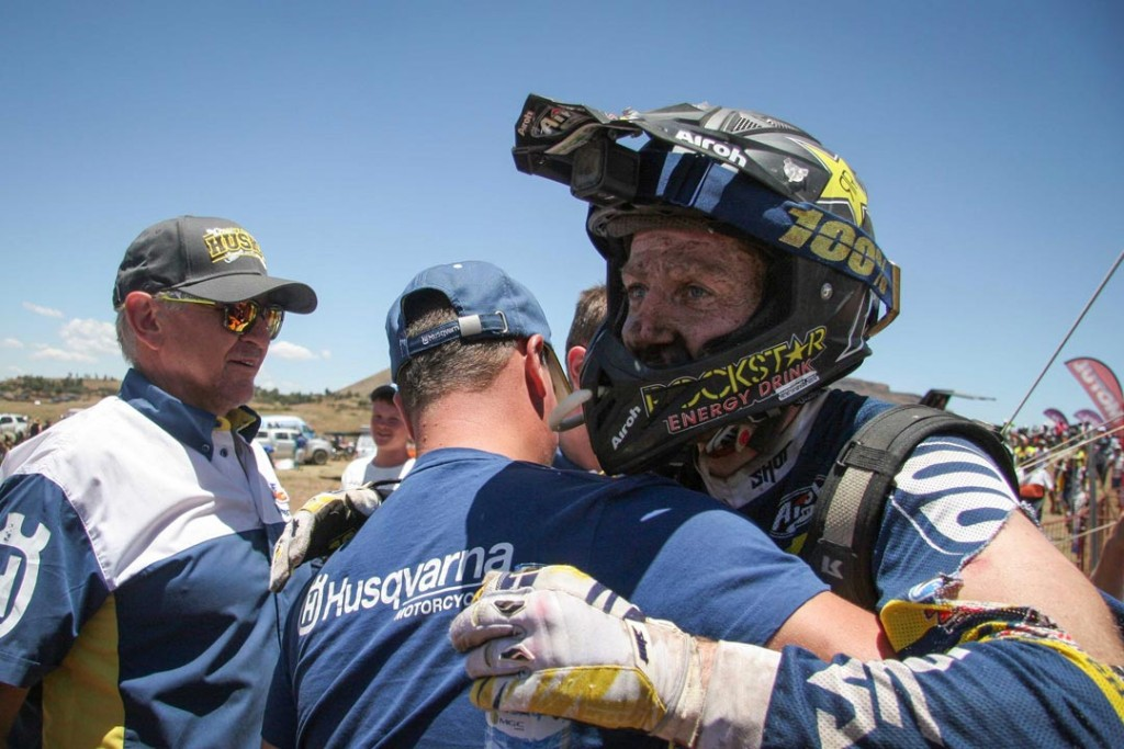 Graham Jarvis won the 2015 Roof of Africa Enduro