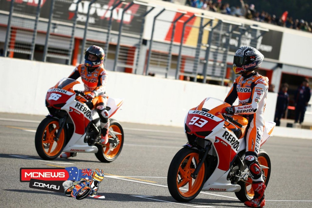 CBR250 Dream Cup with Marc Marquez and Dani Pedrosa