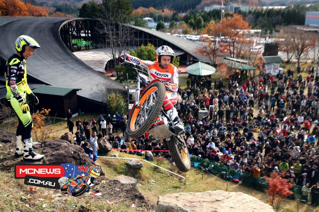 Honda Racing's Thanks Day  2015 - Trials Demonstration
