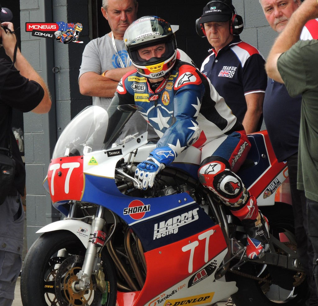 John McGuinness at the Island Classic