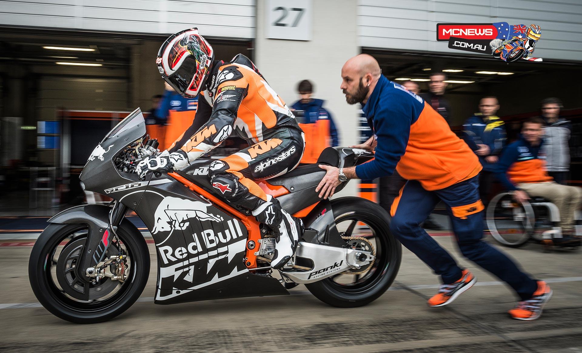 KTM MotoGP RC16