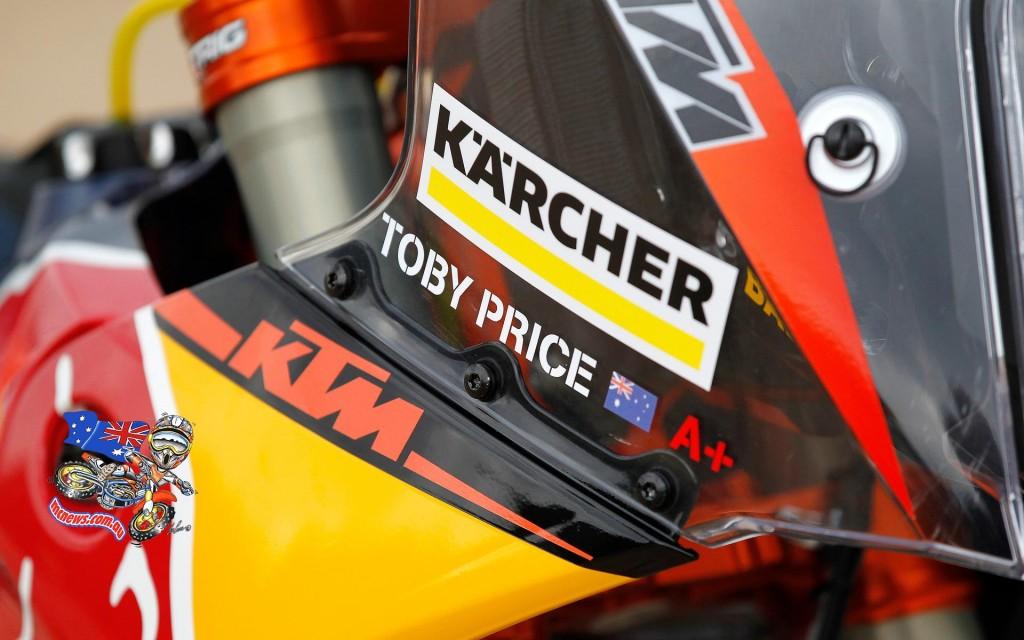 Toby Price - 2016 KTM 450 Rally - KTM Rally Team
