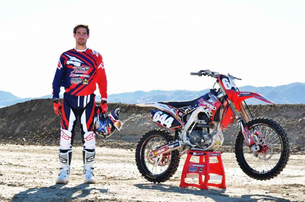 Talented Dutch rider Nick Kouwenberg will compete in the 2016 AMA Supercross 250SX West Region championship