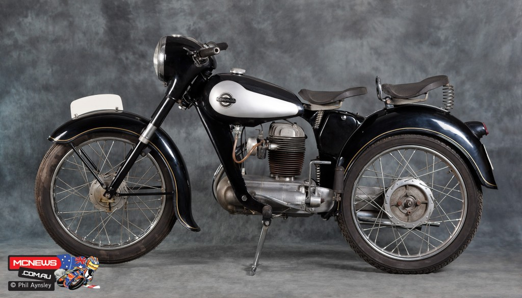 1955 200 Coronat - Museu de la Moto in Bassella - Image by Phil Aynsley
