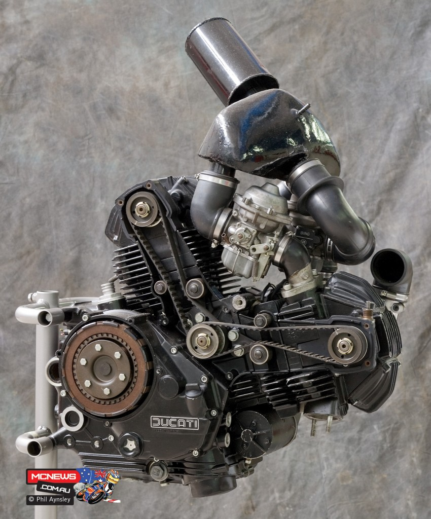 Ducati Factory, Bologna, Italy - Supercharged 350 Pantah - By Phil Aynsley