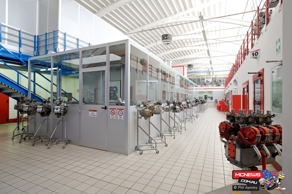 Ducati Factory, Bologna, Italy - By Phil Aynsley