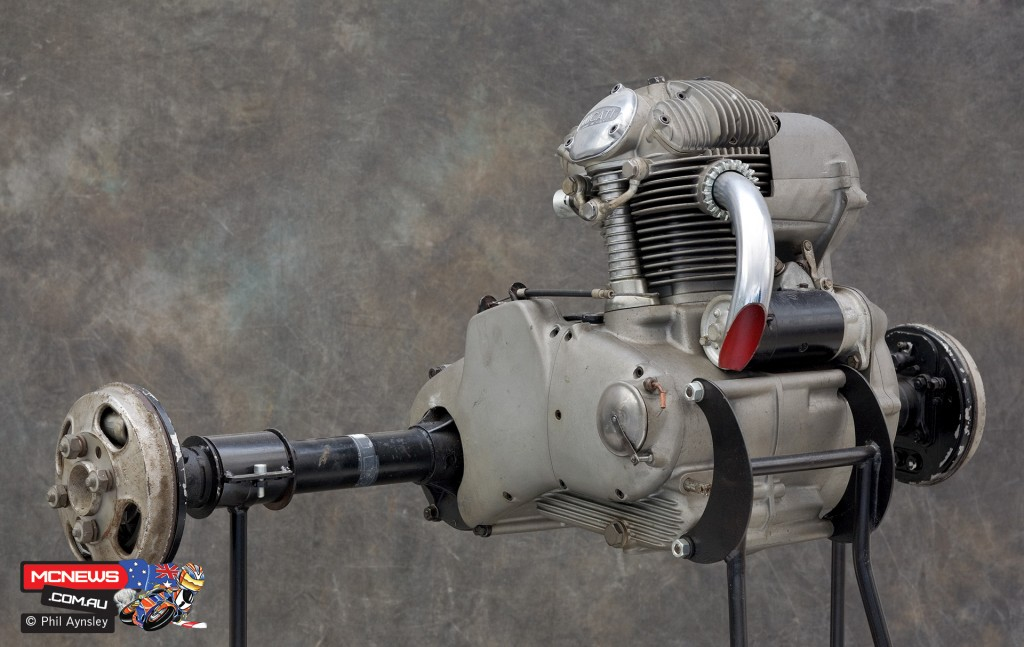 Ducati Factory, Bologna, Italy - Ducati Muletto three-wheel utility vehicle - By Phil Aynsley