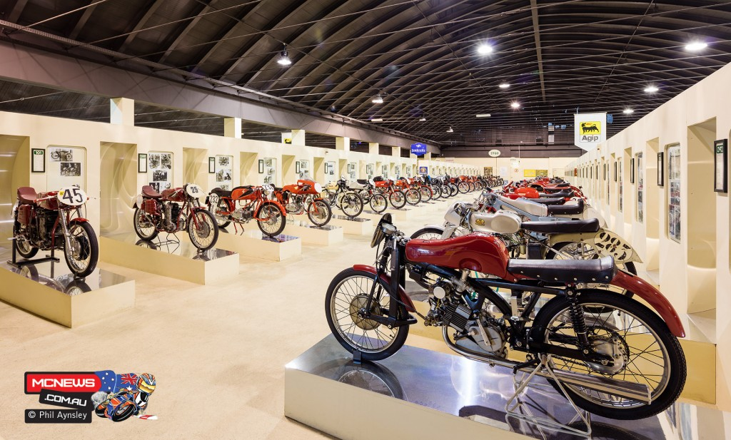 "A view on one of the five ""halls"" at the Morbidelli Museum, Pesaro. By Phil Aynsley"