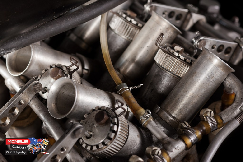 Moto Guzzi 500cc V-8 - By Phil Aynsley