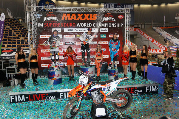 Claiming the overall win by the narrowest of margins from KTM's Jonny Walker (GB), Webb put himself into an early lead in the championship.